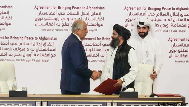 US and Taliban Sign Deal to End the Ghost War In 2020