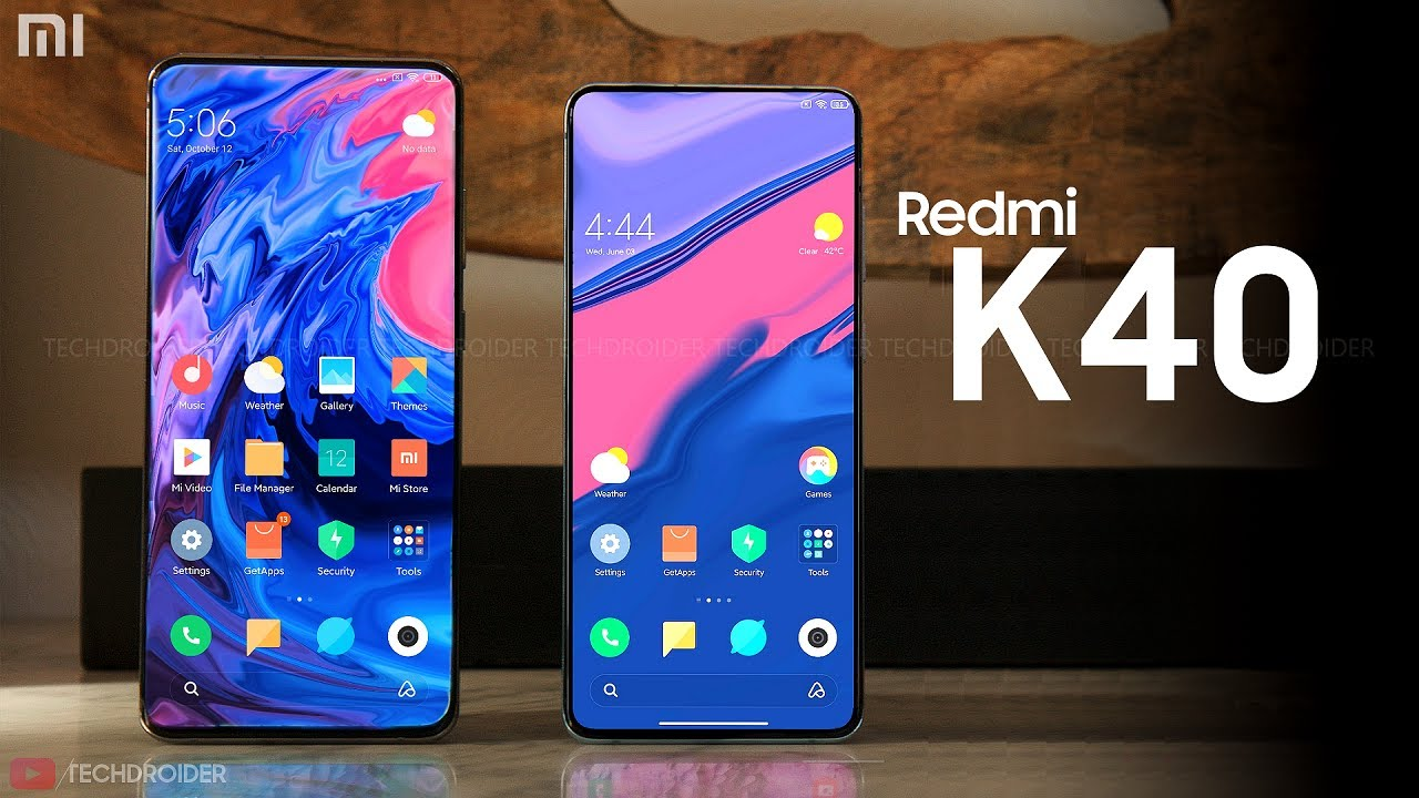 Redmi is about to launched the K40 and the K40 Pro this week.
