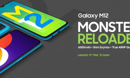 Samsung's best price phone M12, Is launched with a 6000mAh battery with a 90 Hz refresh rate display screen with affordable price.