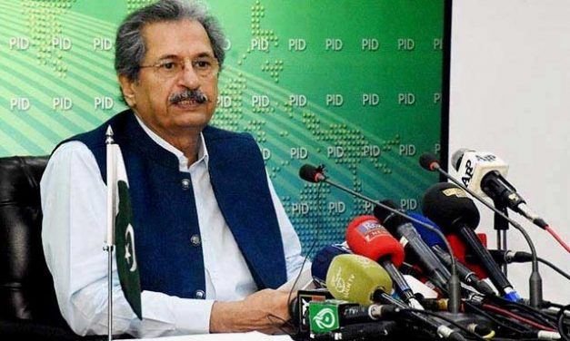 """Today in press conference Shafqat Mahmood said"""" Closing all Education institutes Will be a Difficult Decision """""""