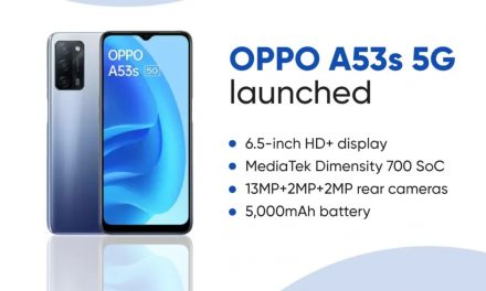 Oppo Launched Oppo A53s 5G Phone With Huge Battery And Triple Camera setup.