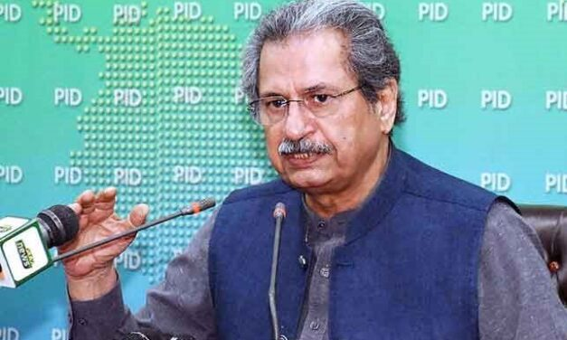 Shafqat Mahmood announced to reopen primary school from April 28 and tomorrow to start again classes from 9 to 12