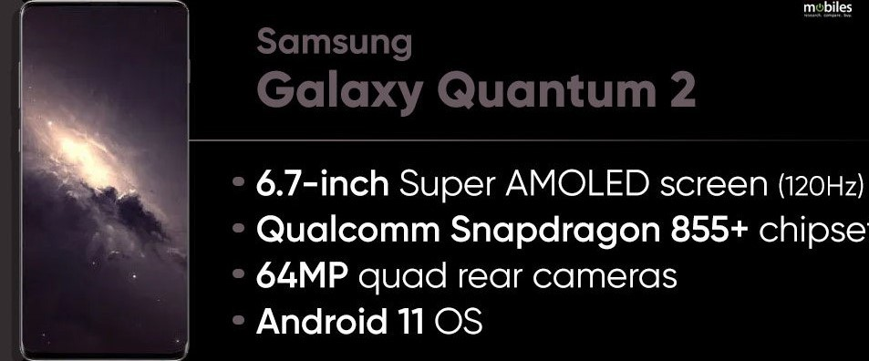 Finally Samsung Officially Launched Galaxy Quantum 2 Smartphone With a Unique Security Chip.