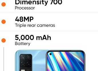 Realme Q3i 5G Phone is Launched With 5000 mAh Battery for $155.