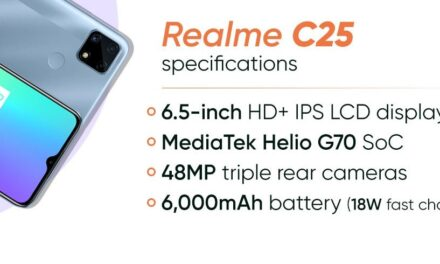 Realme C25 Smartphone Launched with 6,000mAh Huge Battery And Premium Features for $195.